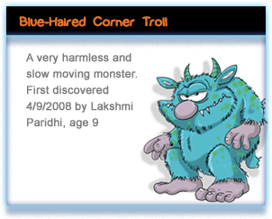 Blue-Haired Corner Troll
