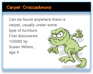 Carpet Croccadummy